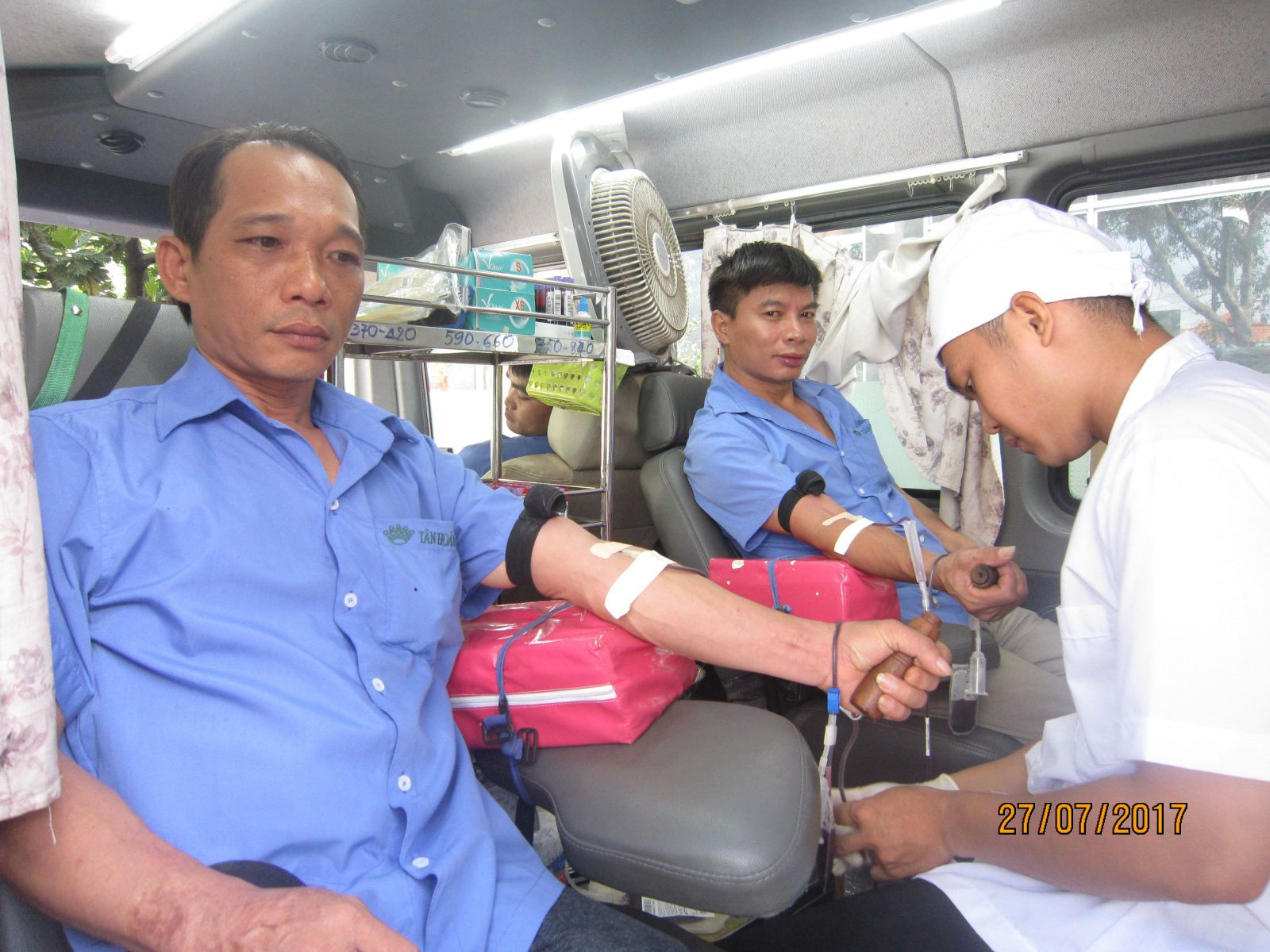 TAN HOANG GIA'S BLOOD DONATION DAY