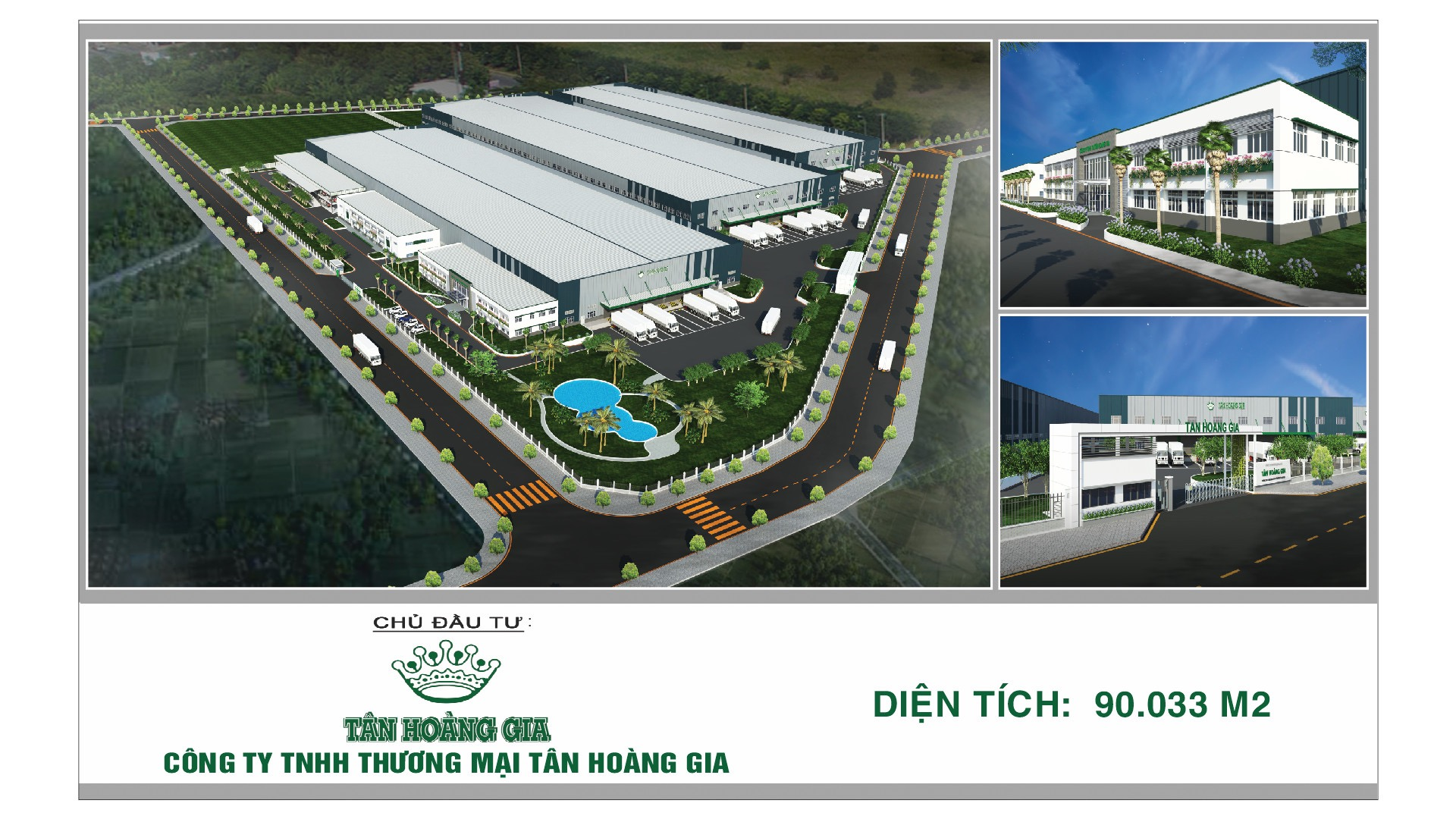 GROUNDBREAKING CEREMONY FOR TAN HOANG GIA NEW FACTORY