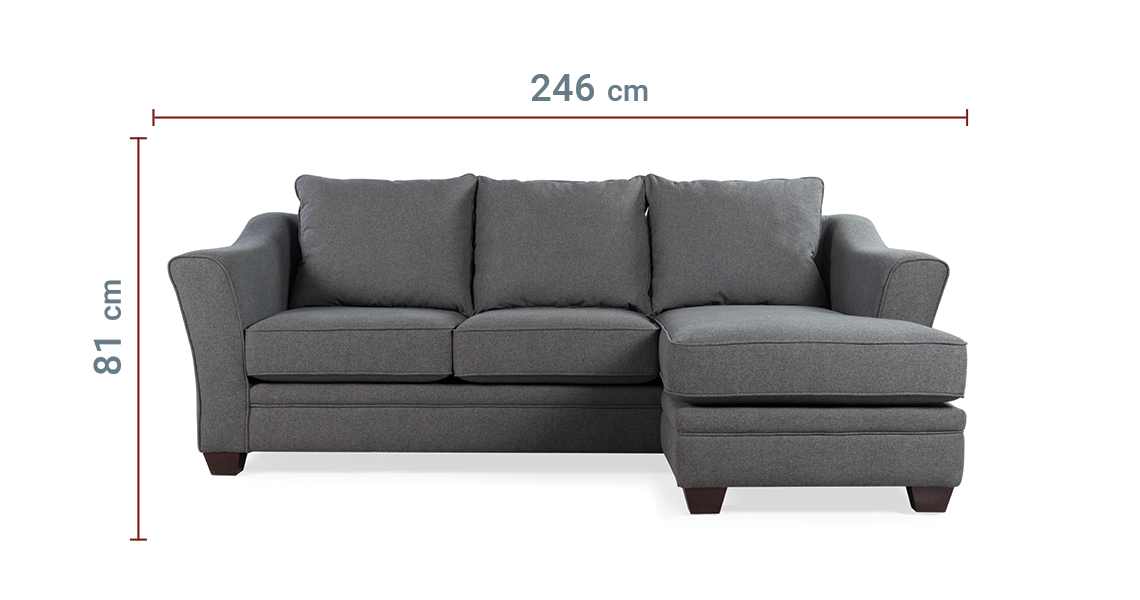 United Small Sectional